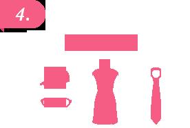4. 衣装完備